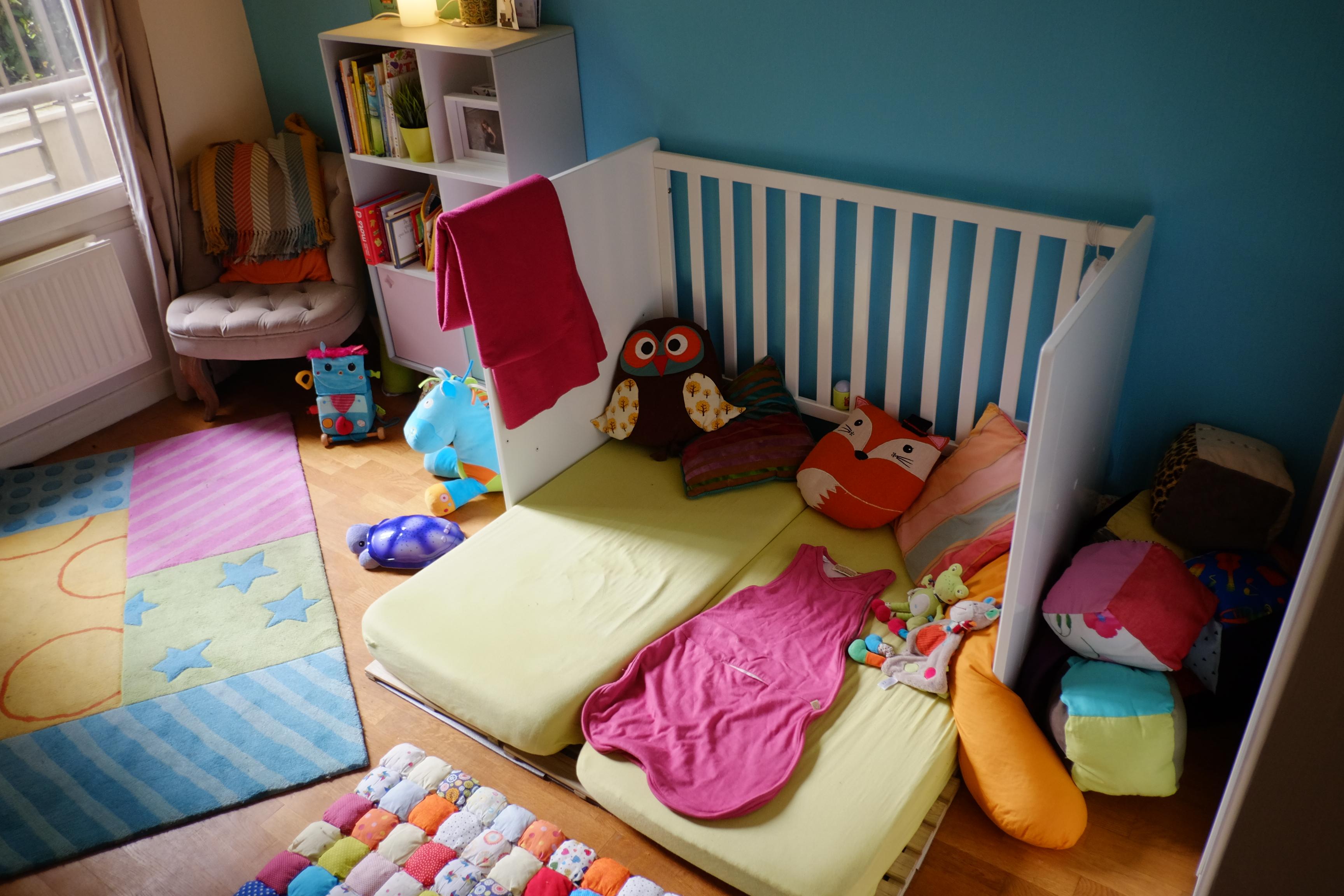 Matelas Au Sol Sommier le lit au sol, retour d'expérience – chut, maman lit !