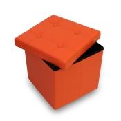 tabouret-cube-avec-coffre-de-rangement-383838cm-pouf-simili-cuir-orange